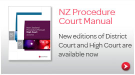 NZ Procedure Court Manual